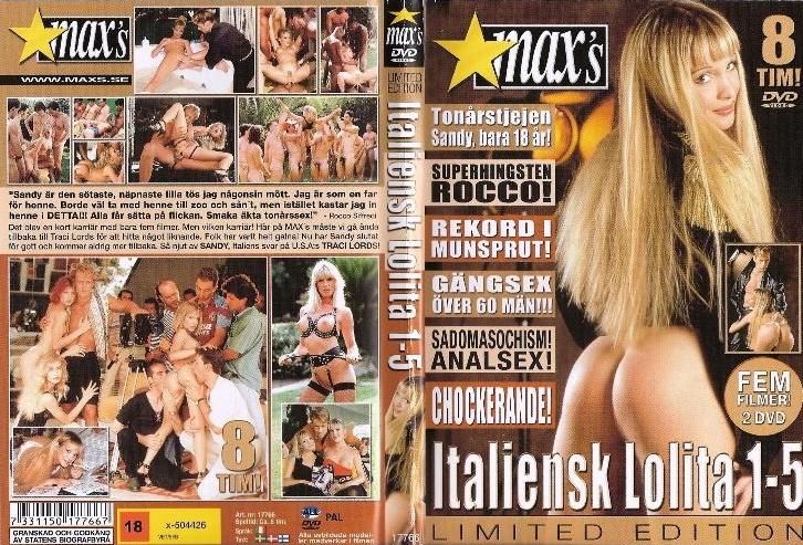 Минет. Маленькие сиськи. Латины. Итальянская Лолита #1-5 (1995) DVDRip.