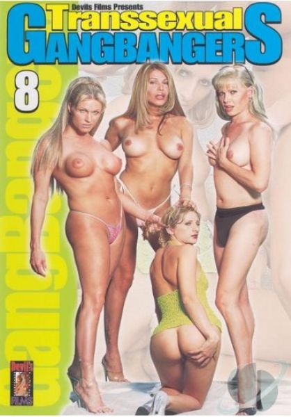 Transsexual Gangbangers 8 Cover
