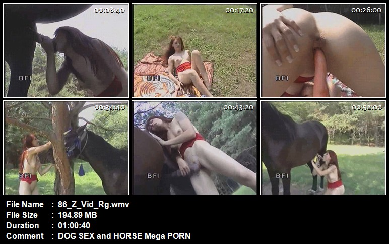 All Screen Shots For Animal Sex Videos