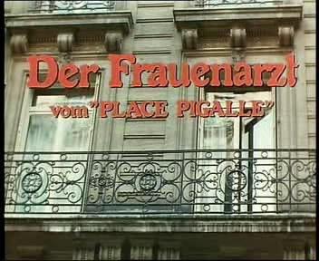 Der frauenarzt vom place pigalle vintage movie f70 8