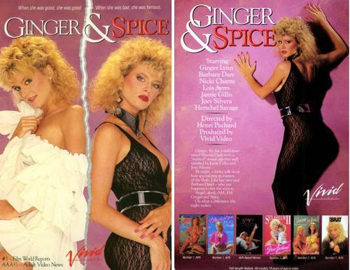 Kylie amp ginger spice snog