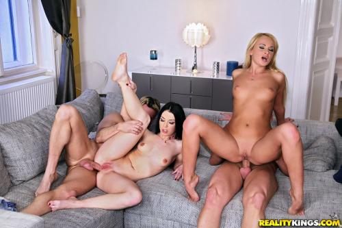 Izabella Clark, Ivana Sugar - Rear view