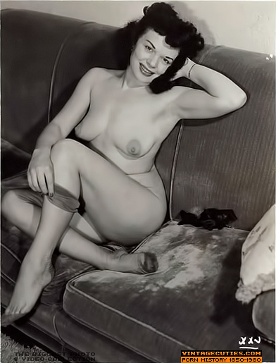 Forbidden Porn Photos of 1940-1950