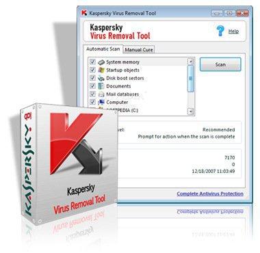 اداة الكاسبر الجبارة Kaspersky Virus Removal Tool 11 0 0 1245 لازالة الفيروسات