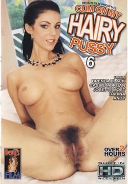 Cum On My Hairy Pussy 6