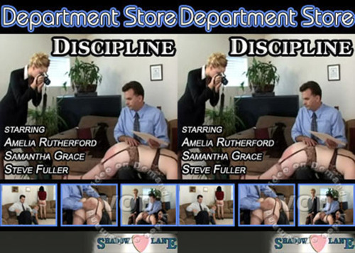 Department Store Discipline FilePost Spanking