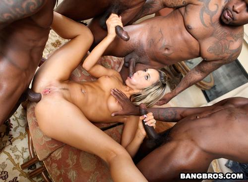 Hot Black Girl Sucks Dick