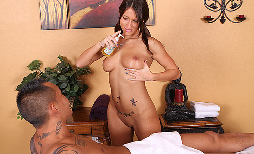 "Massage Parlor - Lizz Taylor ""The Horny Husband"""