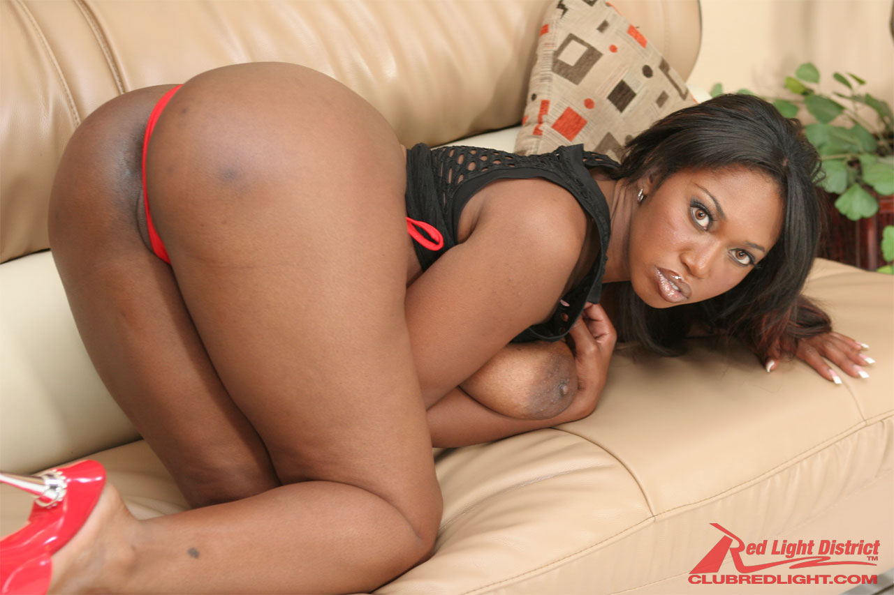 Ebony painful anal sex