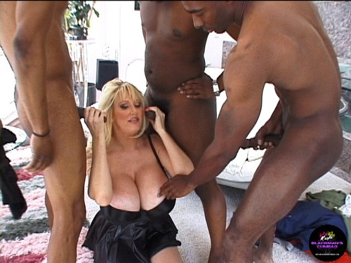 Black bitch gang bang slutload