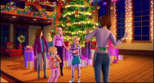 Barbie: Idealne święta / Barbie: A Perfect Christmas (2011) PLDUB.DVDRip.XviD-BiDA / Dubbing PL