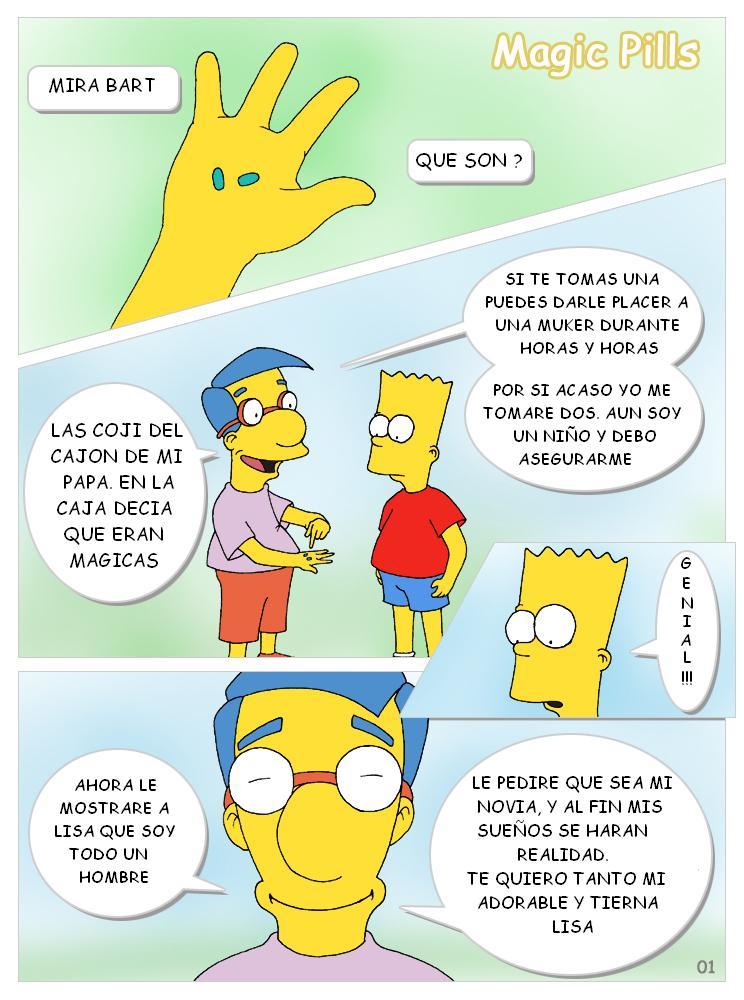 Simpsons Pildoras Magicas Ic Espa Ol Color