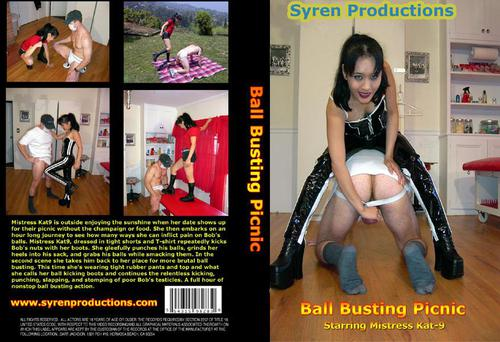 Ball Busting Picnic Studio: Syren Productions Starring: Bob, Mistress Kate