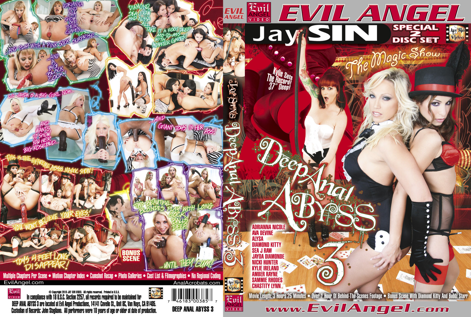 abyss Deep 3 the anal in