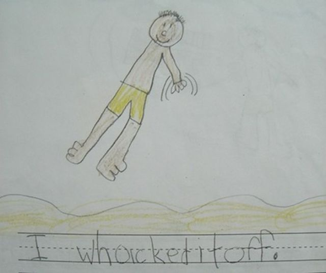 whacked it off - Kids Drawings Images