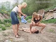 Госпожа писает на рабыню порно