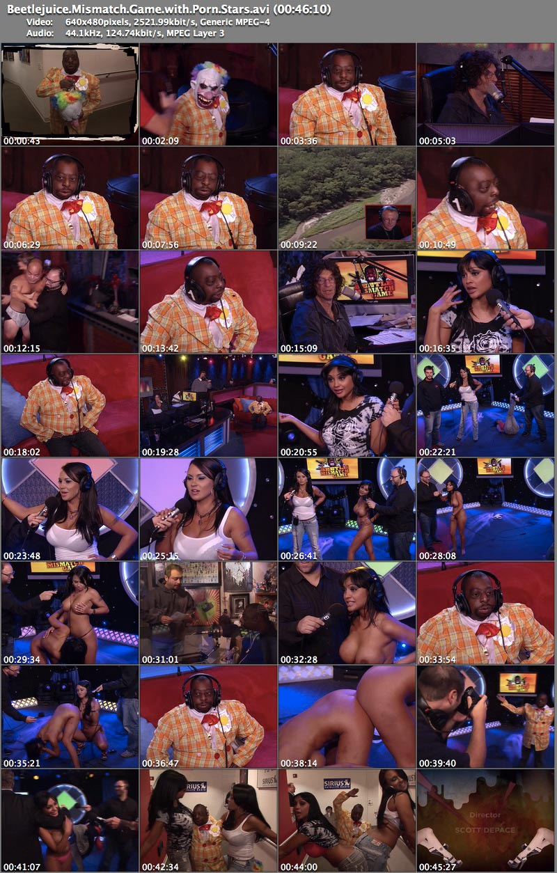 Beetlejuice Mismatch Game with Pornstars 46:10 AVI 640x480