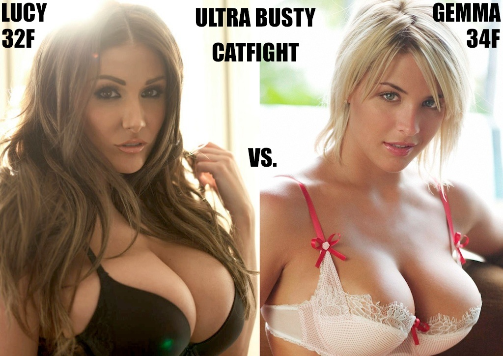 Busty women in catfights