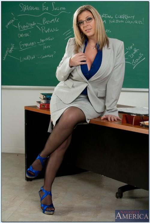 Sara Jay My First Sex Profesora Se Folla Al Alumno 15