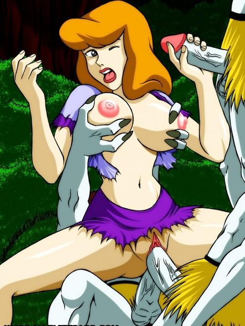 Daphne scooby doo hentai