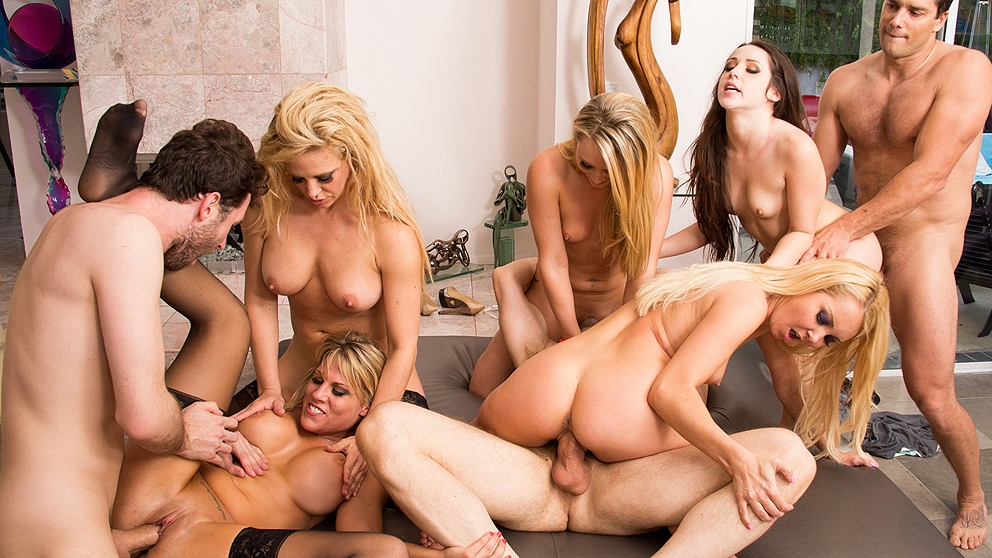 Онлайн порно фото оргии