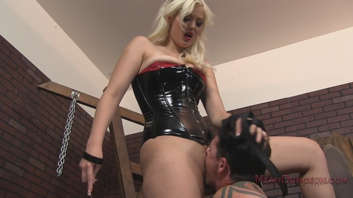 Mistress jenna ivory humiliates and uses her asian slave femdom 10