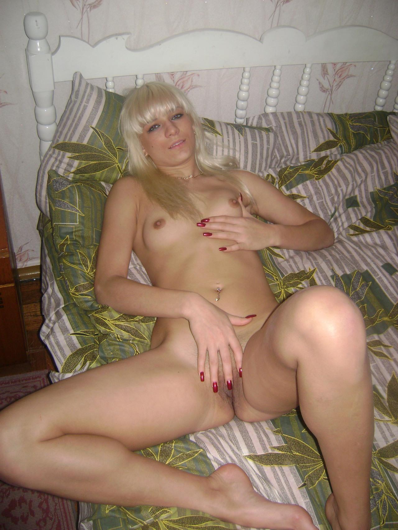 Красивая русская блондинка частное порно