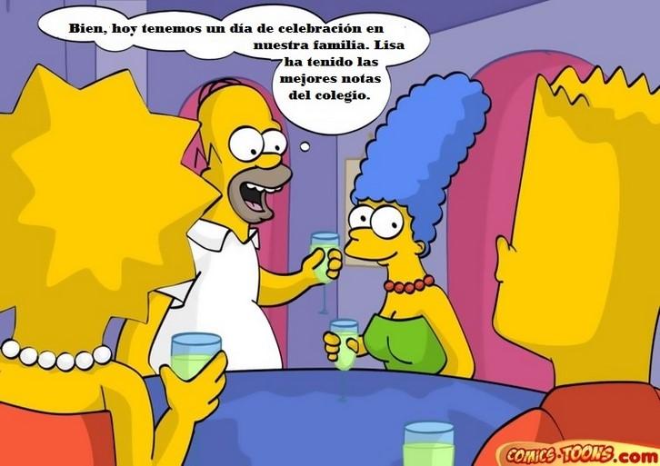 The Simpsons - The drunken family - Español 4