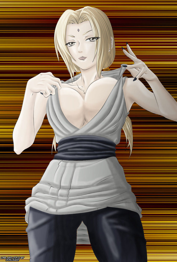 sexy lady tsunade