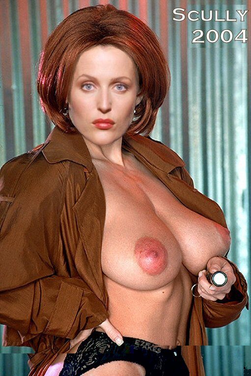 Gillian anderson flashes her tits closure