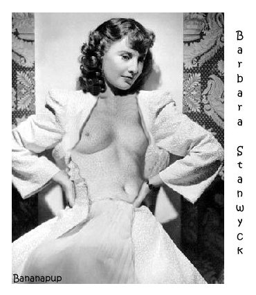 Has barbara stanwyck ever been nude