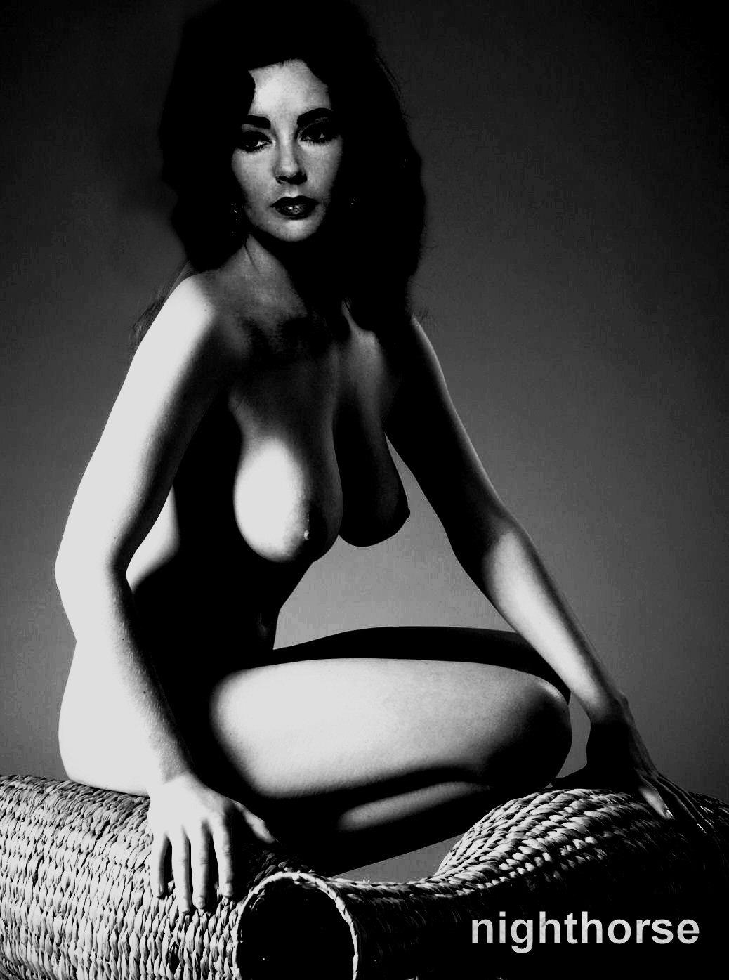Elizabeth Taylor Nude, Naked