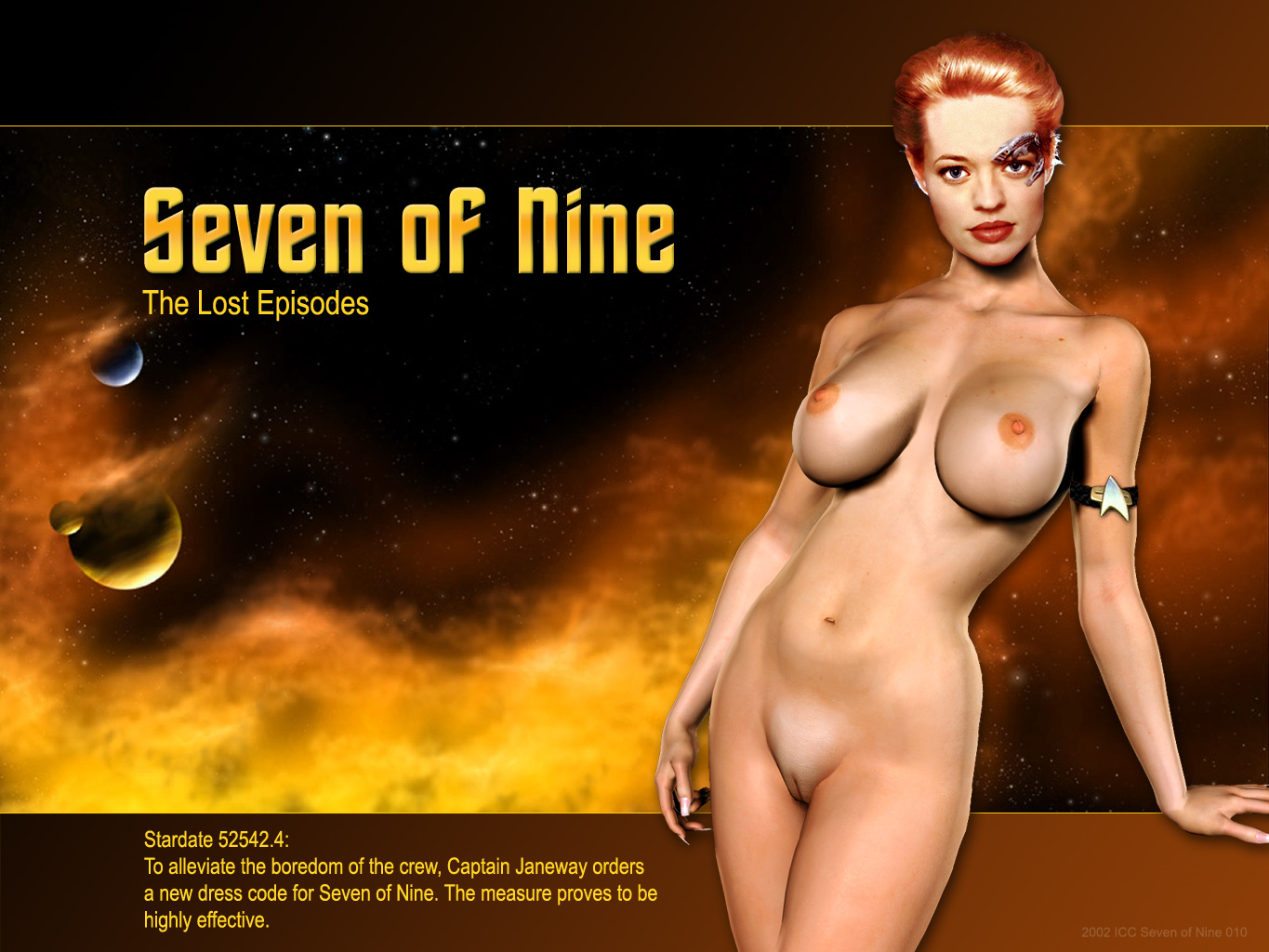 Seven of nine futa ass