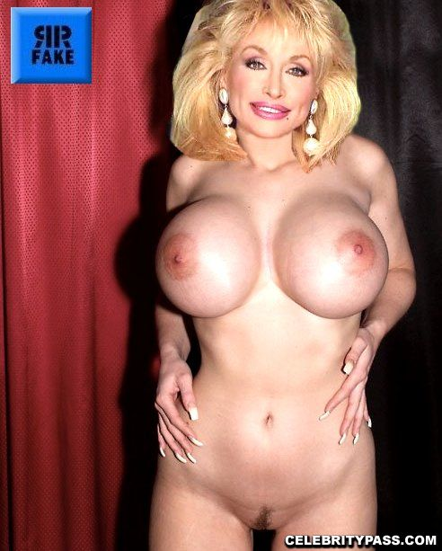 Dolly Parton Naked