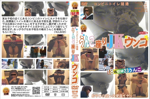 Japanese Scat Voyeur E37-09 (toilet cam)  Asian Scat Scat Voyeur
